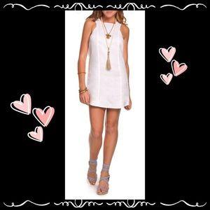 Island Company White Aloha dress